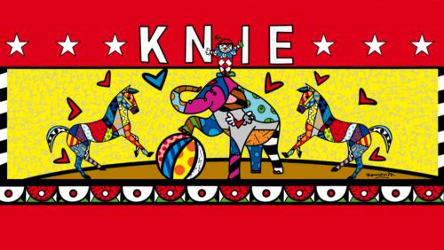 Plakat Circus Knie 2012