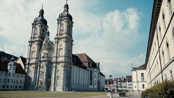 Klosterplatz St.Gallen