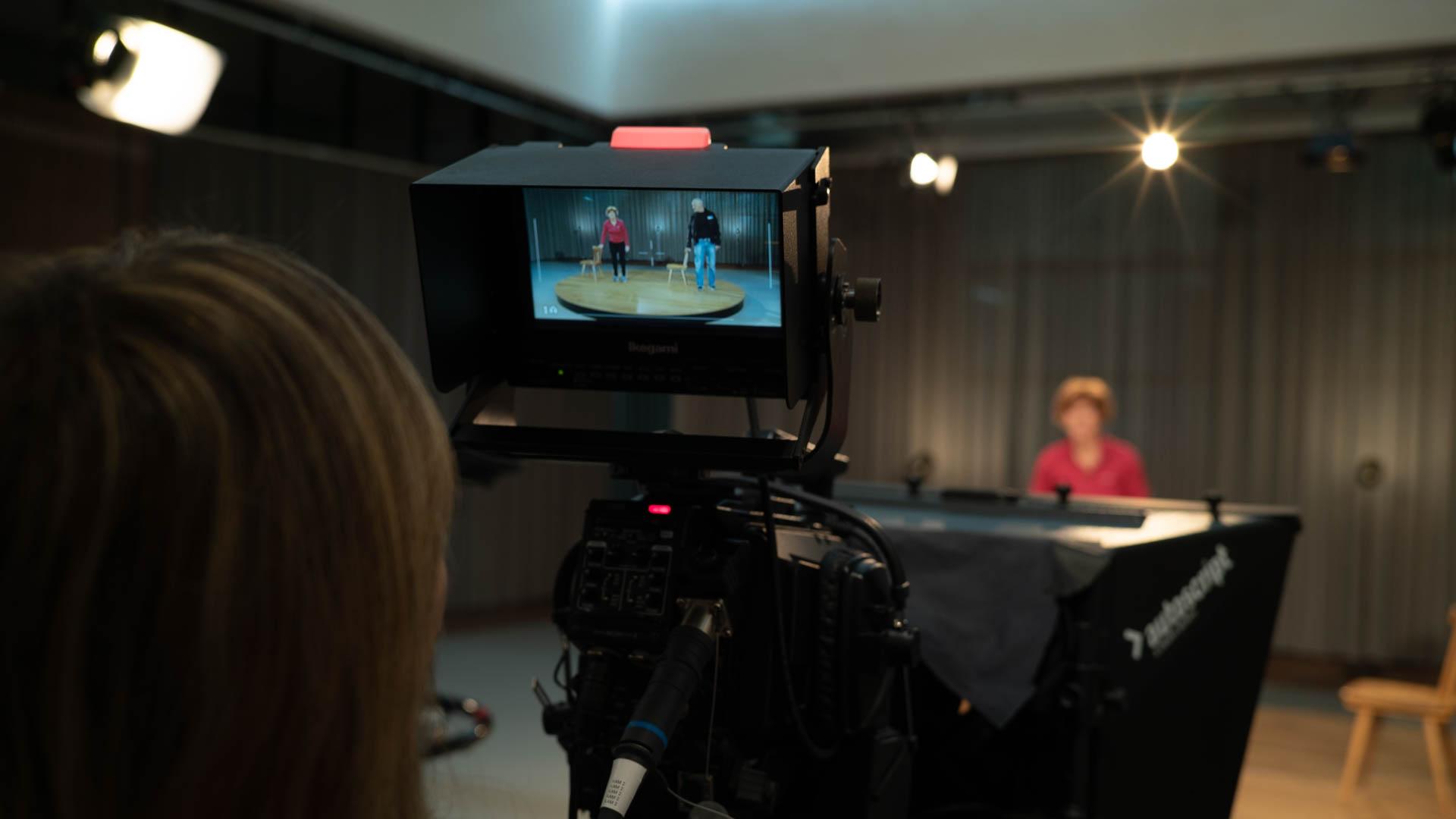 Produktion im TV-Studio